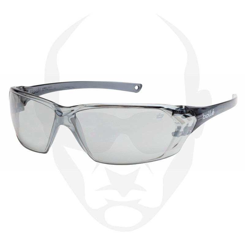 Bollé PRISM Safety Glasses - Silver Flash Lens