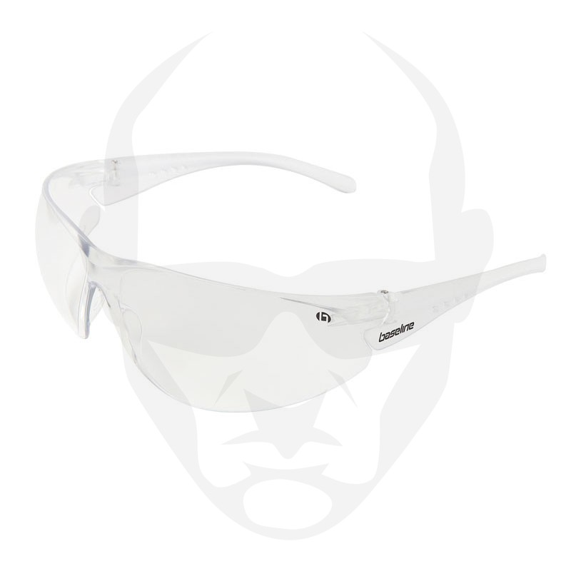 Baseline Airblade Safety Glasses by Scope Optics w/ Clear Lens