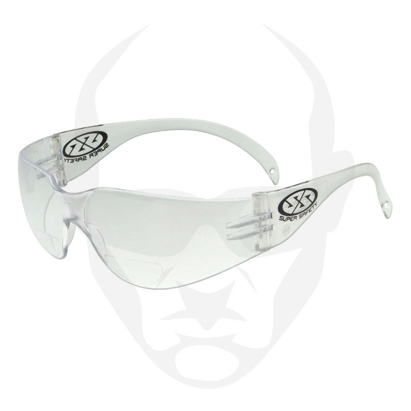 Super Safety ECHO Bifocal Reader - Clear