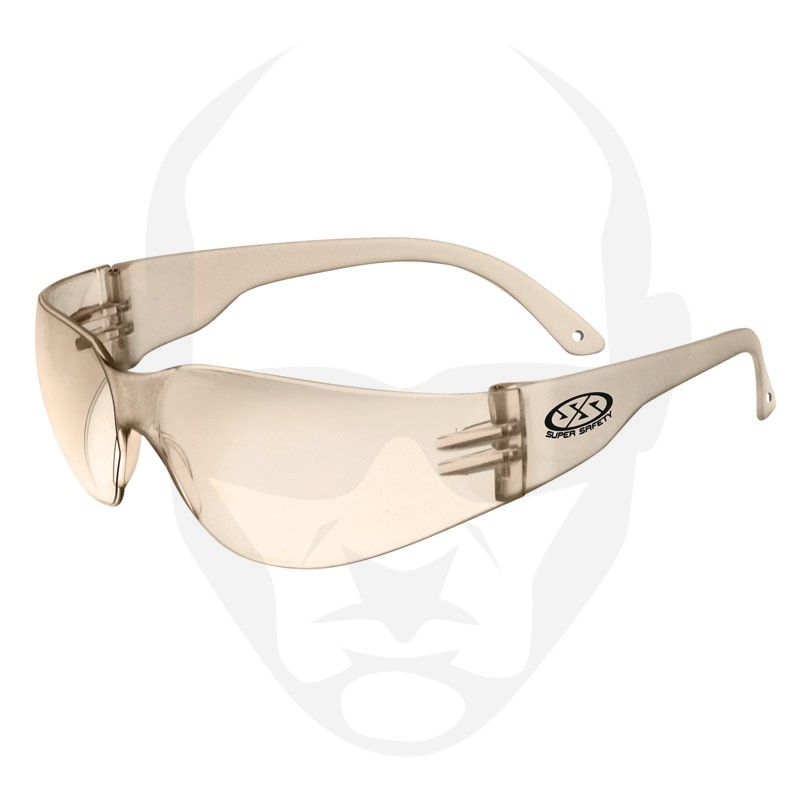 Super Safety ECHO Amber HC Lens Safety Glasses
