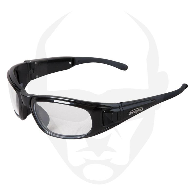 Scope Matrix Safety Glasses w/ Black Frame w/ Clear Lens