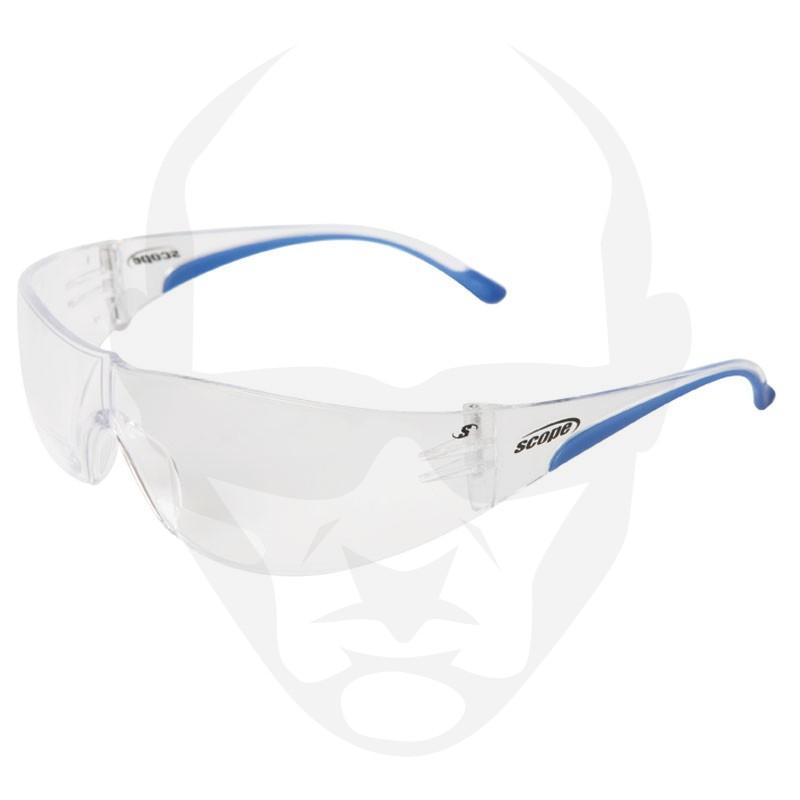 Scope Maxvue Magnifying Safety Glasses Clear AF/HC Lens
