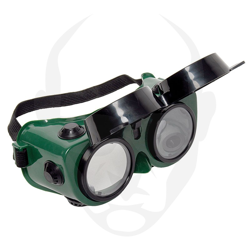 MSA Flashmaster 'Flip-Up' Welding Goggles