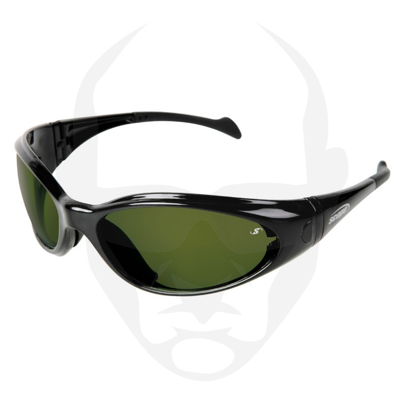 Scope Shapeshifter Safety Glasses w/ Welding Shade 3.0 Lens and Foam Seal