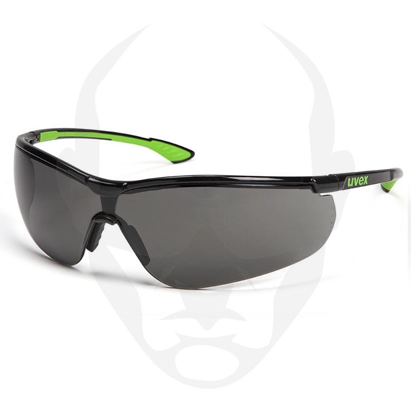 UVEX PHEOS Safety Glasses - Smoke