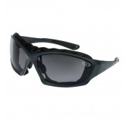 Super Safety TRIDENT Safety Glasses - Gun Metal Frame Smoke Lens